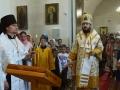 6 июля 2018 г., в праздник Рождества пророка Иоанна Предтечи, епископ Силуан совершил вечернее богослужение во Всехсвятском храме села Починки