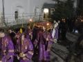 6 апреля 2018 г. епископ Силуан совершил утреню Великой Субботы в Макарьевском монастыре