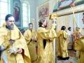 11 июня 2017 г., в неделю 8-ю по Пятидесятнице, всех святых, епископ Силуан совершил литургию в Покровском храме села Покров Майдан