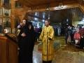 23 декабря 2017 г., в неделю 29-ю по Пятидесятнице, святых праотец, епископ Силуан совершил вечернее богослужение в Никольском храме поселка Разино