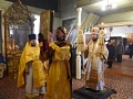 52 декабря 2018 г., в неделю 27-ю по Пятидесятнице, епископ Силуан совершил литургию в Благовещенском храме села Разнежье