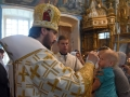 16 мая 2018 г., в праздник Вознесения Господня, епископ Силуан совершил вечернее богослужение в Богородицерождественском храме села Рубское