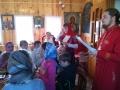 16 апреля 2018 г. в приходе поселка Сатис прошёл пасхальный праздник