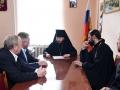 22 октября 2017 г. епископ Силуан встретился с главой администрации Сеченовского района