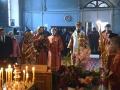 4 октября 2017 г., в день памяти священномученика Иоанна Флёрова, епископ Силуан совершил литургию в Архангельском храме села Семьяны