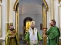 1 апреля 2018 г., в праздник Входа Господня в Иерусалим, епископ Силуан совершил литургию во Владимирском соборе города Сергача