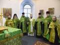 31 марта 2018 г., в праздник Входа Господня в Иерусалим, епископ Силуан совершил вечернее богослужение во Владимирском соборе города Сергача
