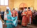 1 мая 2014 года состоялось великое освящение храма в честь Всех святых на кладбище г. Сергач.
