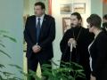 12 января 2014 г. архипастырь совершил Божественную литургию в  храме в честь Успения Божией Матери с. Большое Болдино.