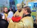 22 ноября 2013 г. митрополит Нижегородский и Арзамасский Георгий в сослужении Преосвященнейшего Силуана совершил Божественную Литургию в Георгиевском храме г. Лысково.