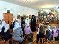 15 февраля 2017 г. епископ Силуан встретился с воспитанниками воскресной школы при Преображенском храме села Спасское