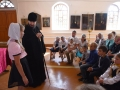 26 августа 2018 г. епископ Лысковский и Лукояновский Силуан встретился с учениками воскресной школы при Преображенском храме в селе Спасское