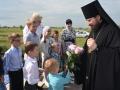 38 июля 2018 г., в неделю 6-ю по Пятидесятнице, епископ Силуан совершил освящение храма в селе Сырятино