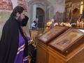 12 августа 2018 г., в неделю 11-ю по Пятидесятнице и день памяти апостола Силуана, епископ Силуан совершил литургию в Макарьевском монастыре
