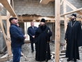 22 октября 2017 г. епископ Силуан осмотрел строящийся храм в селе Торговое Талызино