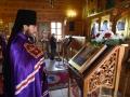 29 апреля 2018 г., в неделю 4-ю по Пасхе, о расслабленном, епископ Силуан совершил литургию в Преображенском храме села Великовское