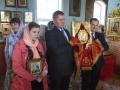 Глава администрации Воротынского района и его заместитель приняли участие в богослужении и крестном ходе в селе Фокино