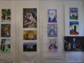 18 июля 2014 г. в Лысковском краеведческом музее состоялось открытие выставки детского творчества «Преподобный Сергий Радонежский».