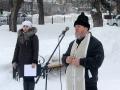 15 февраля 2017 г. клирик Воротынского благочиния принял участие в митинге в честь Дня памяти воинов-интернационалистов