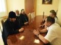 12 июля 2018 г. епископ Лысковский и Лукояновский Силуан встретился с главой администрации Воротынского района