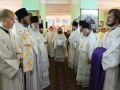 29 августа 2014 г. епископ Лысковский и Лукояновский Силуан совершил Божественную литургию в храме в честь Нерукотворного Образа Спасителя в  р.п. Воротынец.