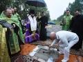 17 июля 2018 г. епископ совершил чин закладки храма в селе Воскресенское Сергачского района