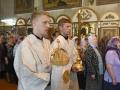 1617 мая 2018 г., в праздник Вознесения Господня, епископ Силуан совершил литургию в Георгиевском храме города Лысково