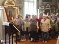 2117 мая 2018 г., в праздник Вознесения Господня, епископ Силуан совершил литургию в Георгиевском храме города Лысково