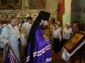 517 мая 2018 г., в праздник Вознесения Господня, епископ Силуан совершил литургию в Георгиевском храме города Лысково