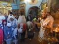 26 мая 2018 г., в праздник Пятидесятницы, епископ Силуан совершил вечернее богослужение в Казанском храме города Лысково