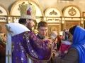 24 марта 2018 г., в неделю 5-ю Великого поста, епископ Силуан совершил вечернее богослужение в Георгиевском храме города Лысково