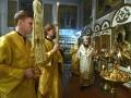 16 декабря 2017 г., в неделю 28-ю по Пятидесятнице, епископ Силуан совершил вечернее богослужение в Георгиевском храме города Лысково