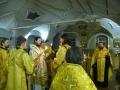10 февраля 2018 г., в неделю о Страшном Суде, епископ Силуан совершил вечернее богослужение в Макарьевском монастыре