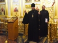 16 июня 2018 г. епископ Силуан совершил всенощное бдение в Макарьевском монастыре