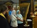 8 сентября 2018 г. епископ Силуан совершил вечернее богослужение в Успенском храме Макарьевского монастыря