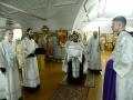 121 января 2017 г., в неделю 31-ю по Пятидесятнице, по Богоявлении, епископ Силуан совершил всенощное бдение в Макарьевском монастыре