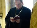 25 февраля 2017 г., в неделю сыропустную, воспоминание Адамова изгнания, епископ Силуан совершил всенощное бдение в Казанском храме города Лысково