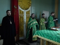 3 июня 2017 г., в праздник Пятидесятницы, епископ Силуан совершил вечернее богослужение в Макарьевском монастыре