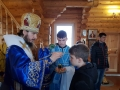 6 апреля 2019 г., в неделю 4-ю Великого поста и праздник Благовещения Пресвятой Богородицы, епископ Силуан совершил вечернее богослужение в селе Кириково