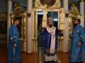 27 октября 2018 г., в неделю 22-ю по Пятидесятнице, епископ Силуан совершил вечернее богослужение в Георгиевском храме города Лысково