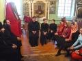 12 мая 2018 г., после вечернего богослужения, епископ Силуан встретился с молодыми прихожанами в Георгиевском храме города Лысково