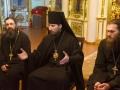712 мая 2018 г., после вечернего богослужения, епископ Силуан встретился с молодыми прихожанами в Георгиевском храме города Лысково